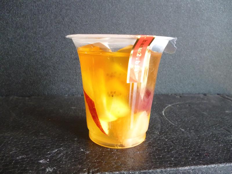 紅茶のジュレ&フルーツポンチ